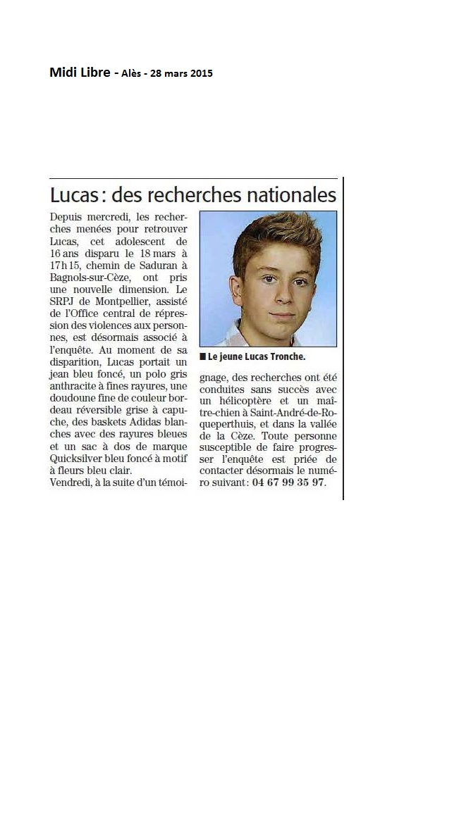 2015.03.28 Midi Libre pages région